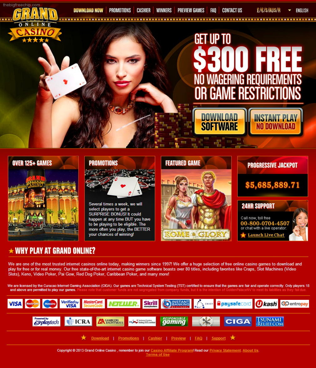 Free Online Us Casino Games