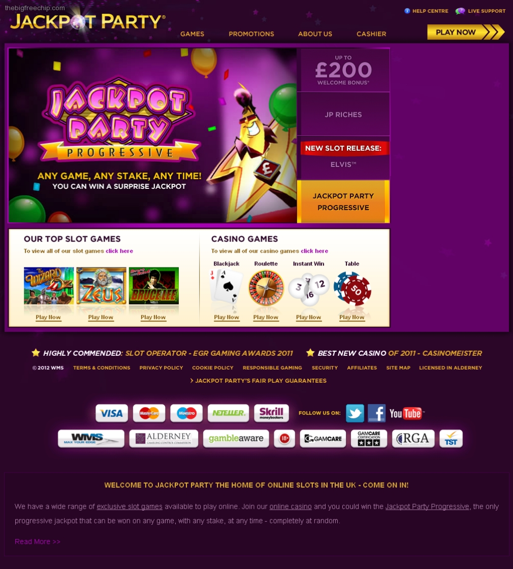 Jackpot party casino yahoo aria resort and casino
